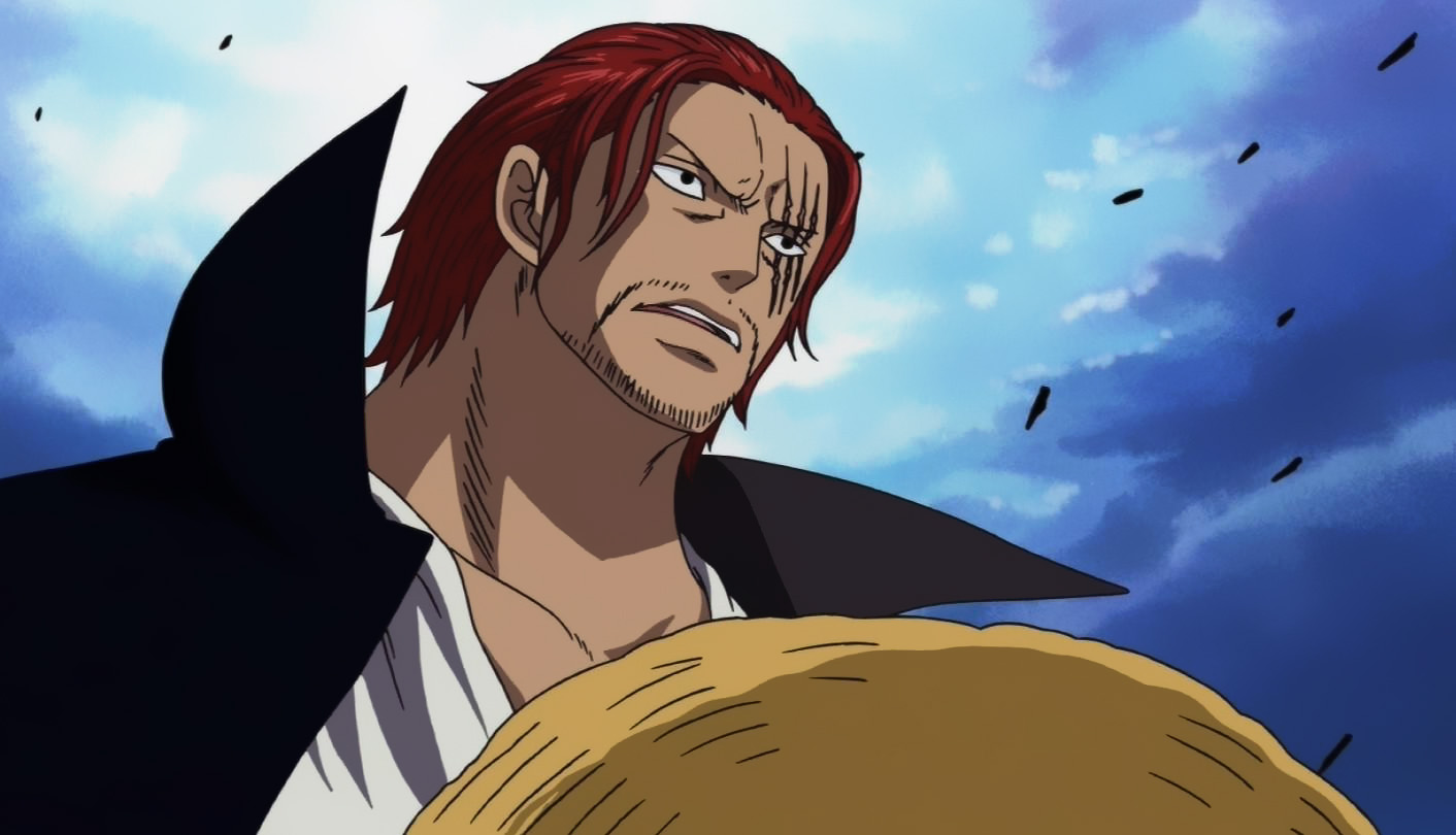 Shanks Marineford Colored